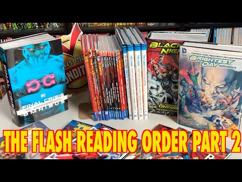 A Comprehensive Look At The Reading Order Of The Flash Part 2!
