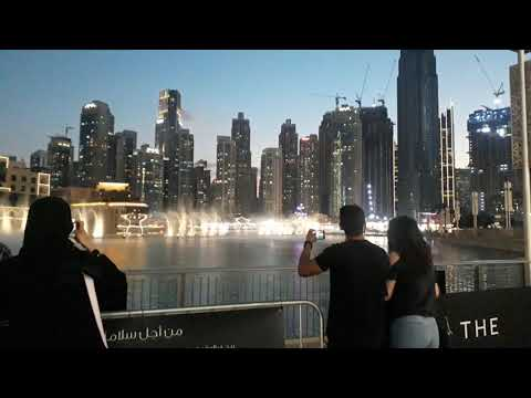 Dubai Fountain Show 2020 || Dubai Mall Fountain