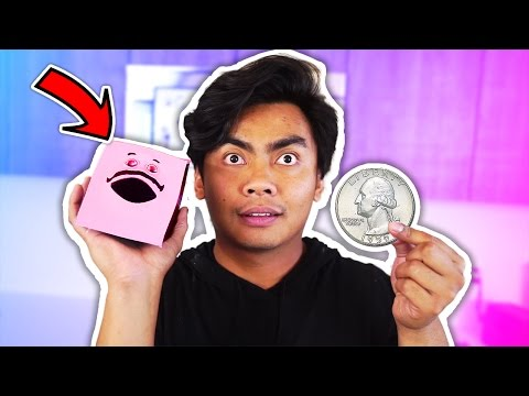 CRAZY COIN EATING TOY!