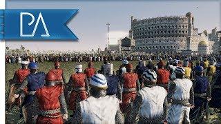 Kingdom of England And Portugal Fight United - Medieval Kingdom Total War 1212AD