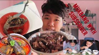 Kadaknath meat mukbang    Nepali mukbang 2020