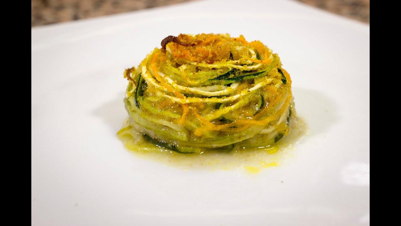 Spaghetti di verdure gratinate ricetta vegan youtube for Spaghetti ricette