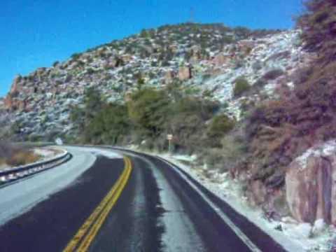 Top Of The World, AZ - SR 60 Between Superior and Miami, Arizona.MOV