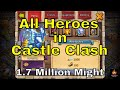 All Heroes in Castle Clash Best Talents Best Traits Hero Setups and Hero Builds Guide