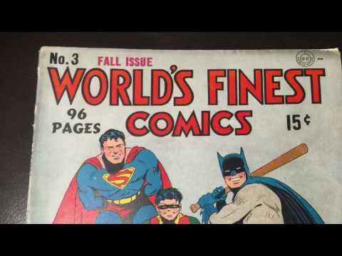 CGC & CBCS Unboxing! Worlds Finest #3. Ep 89