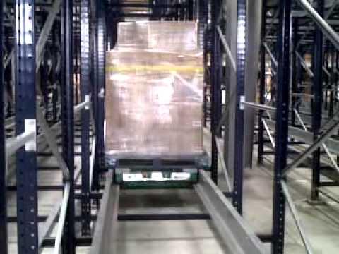 Radio Shuttle Pallet Racking CP Jeddah