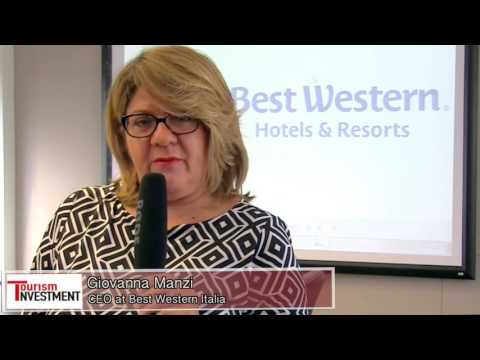 Giovanna Manzi CEO at Best Western Italia