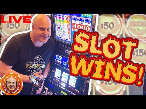 LIVE Tuesday Night High Limit 🔥 HOT SLOTS🔥 The Big Jackpot - 동영상