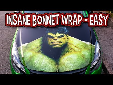 Bonnet Wrap  Rusty Wrapping Series