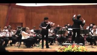 S. Prokofiev-Violin Concerto No. 2 in g minor. Op. 63-Alfredo Reyes Logounova (1/3)
