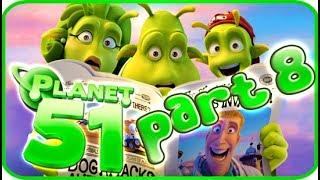 Planet 51 Walkthrough Part 8 (PS3, Xbox 360, Wii) - Movie Game