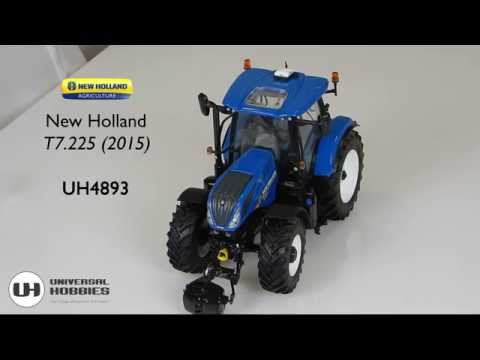 New Holland T7.225 - Scale 1/32 - by Universal Hobbies - UH4893