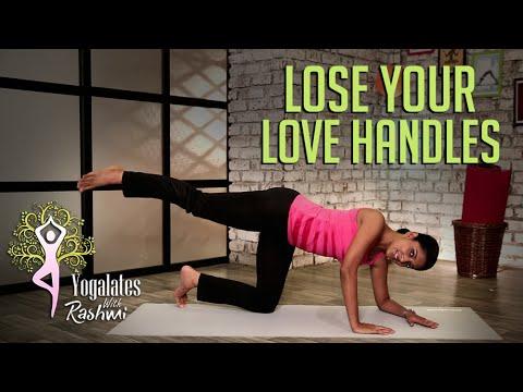 yoga poses to lose love handles  yogalates with rashmi
