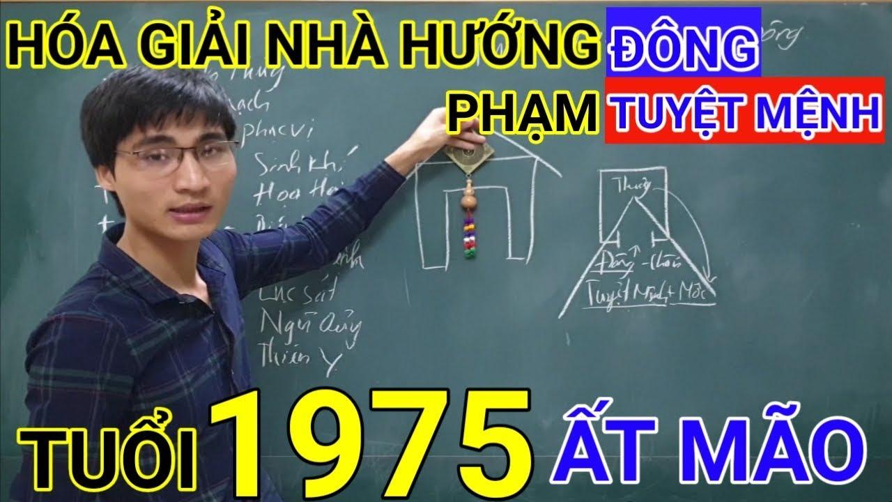 Tuổi Ất Mão 1975 Nhà Hướng Đông | Hóa Giải Hướng Nhà Phạm Tuyệt Mệnh Cho Tuổi At Mao 1975