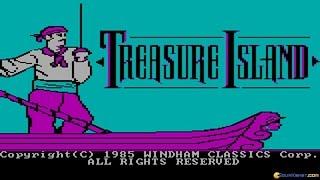 Treasure Island gameplay (PC Game, 1985)