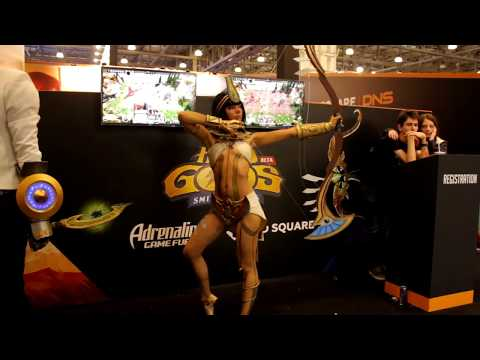 Neith (Smite) Cosplay at Comic Con 2017