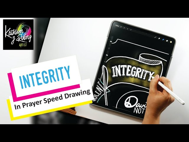 SketchNotes - Integrity in your Prayer life