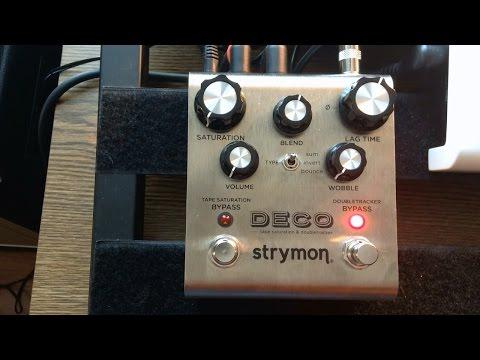 Strymon Deco Wide Stereo Mode for Live Guitar