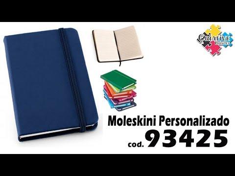 Caderno Moleskini 93425 Personalizado - Criative Brindes