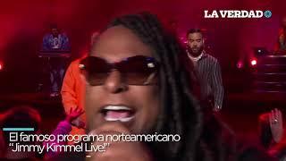 J Balvin enloquece a sus fans en Jimmy Kimmel Live!
