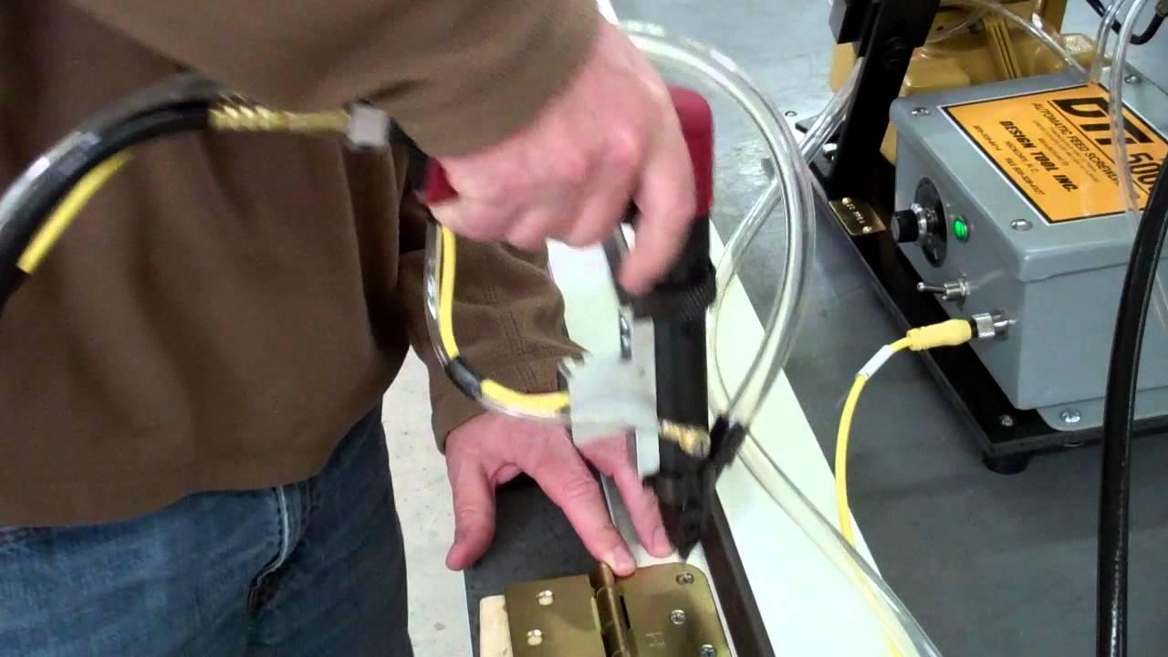 Dti Automatic Pistol Screw Feeder For Door Hinge Industry