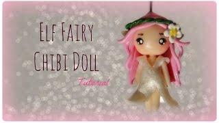 Elf Fairy Chibi Doll - Polymer Clay Tutorial