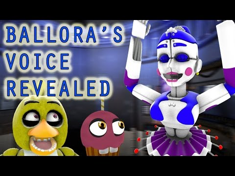 CHICA REACTS TO: Ballora's Voice REVEALED || SHE CAN HEAR YOU CREEPING