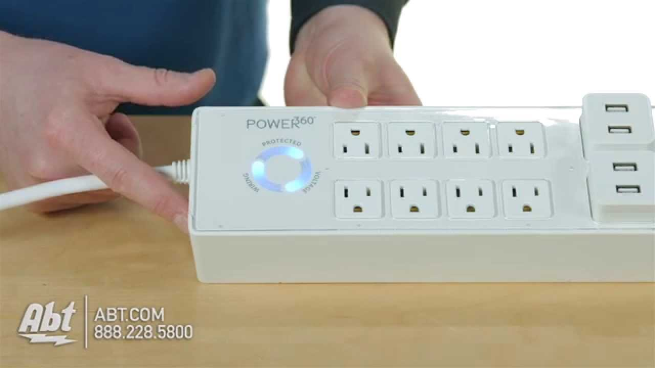Panamax Power360 Power Strip Overview Youtube