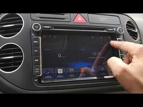"""Volkswagen Android 8"""" штатная магнитола"""
