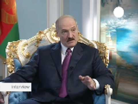 Interview Alexander Lukashenko