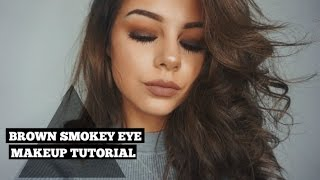 Brown Smokey Eye | All Drugstore Makeup With New Products