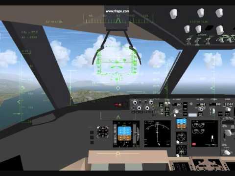 "FLIGHTGEAR- A FULL IGS 13 / (""ILS"") KAI TAK APPROACH"