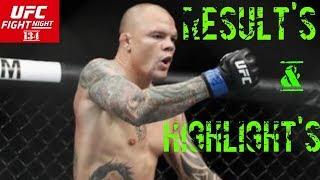 UFC Hamburg Results Highlights Shogun vs Smith - UFCTALKS