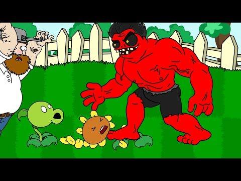 New PLANTS vs ZOMBIES - Episode 15 - AVENGERS Part 7 ANIMATION!
