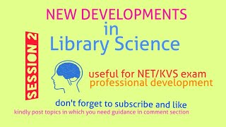 New terms in Library Science. Session 2