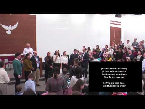 Adriana Stoica, Debora Vitan si frati si surori din biserica Elim Asse si Emanuel Viena colaj 22017