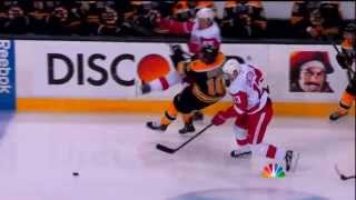 Niklas Kronwall`s Big Hit on Reilly Smith - Game 2