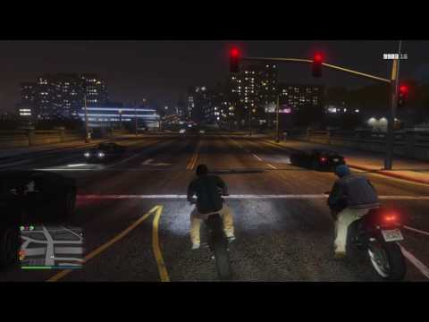 Grand Theft Auto V California bike life part 5