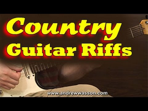 Country Guitar Riffs