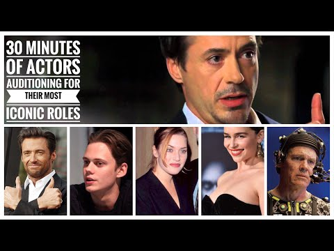 30 Minutes Of Actors Auditioning For Their Most Iconic Roles