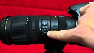 Sigma 70-200mm APO EX DG OS - hands on intro