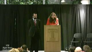 Pamela Geller and Robert Spencer  (end of Q and A) Temple University