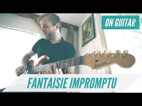 Chopin's Fantaisie Impromptu on Guitar (Metal-Version)