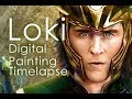 Loki Digital Painting TimeLapse