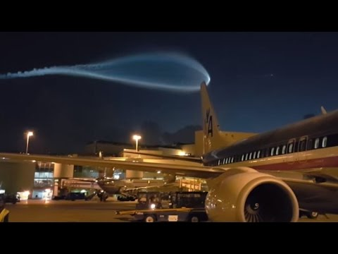 The Cause Of Apparent UFO With Blue Orb Hovering Over Airport Revealed