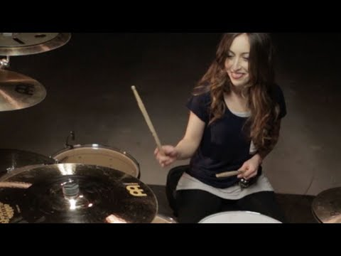 SLIPKNOT - WAIT AND BLEED - DRUM COVER BY MEYTAL COHEN (Take 2)
