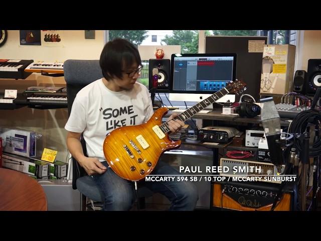 Paul Reed Smith / McCarty 594 Soapbar 10 Top McCarty Sunburst / #256650