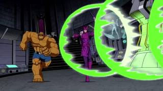 Мстители и Фантастическая 4 против Доктора Дума