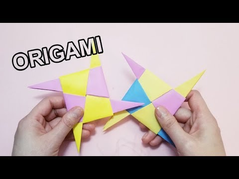 Okay! ll Origami Paper Weapon ★ Ninja blade tutorial