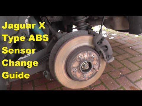 How To Change Jaguar ABS Sensor Rear